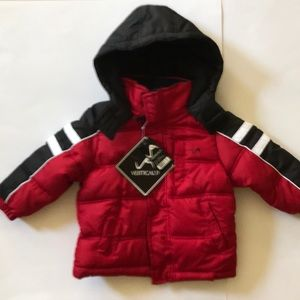Vertical9 Boys 3T Chilli Pepper Red Jacket